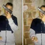 Jovem exibia arma antes do crime