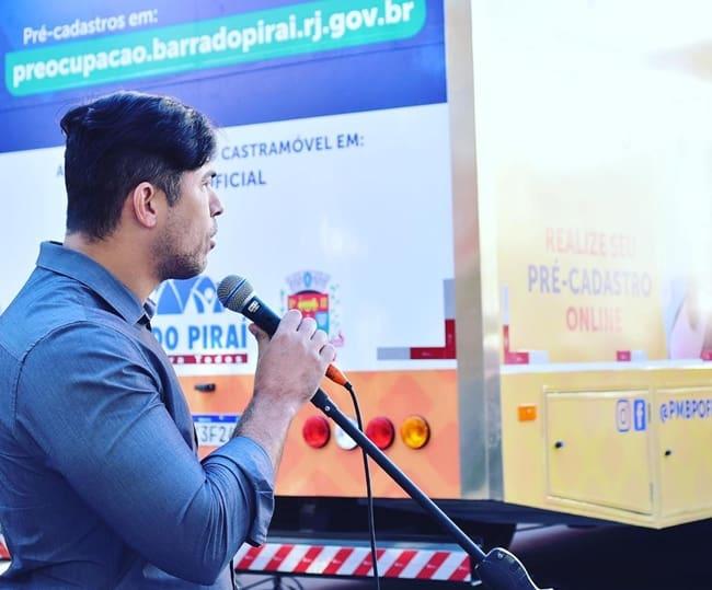 Mario Esteves, prefeito de Barra do Piraí