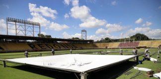 Estádio vai virar hospital