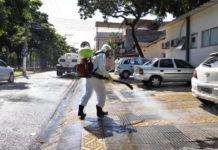 Volta Redonda inicia higienização de ruas
