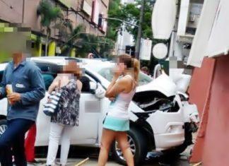 Taxista morre após acidente.
