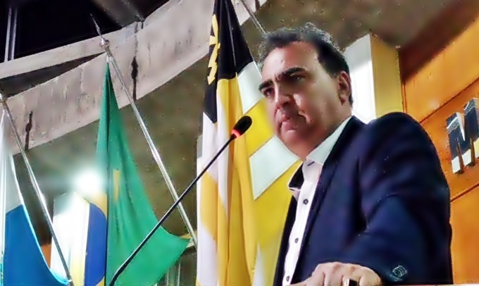Vereador Neném na Câmara de Volta Redonda