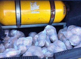 PM encontra 7,5 quilos de cocaína em táxi