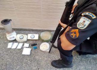 Mulher é presa com droga no Minha Casa, Minha Vida do Roma