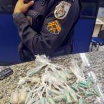 Dupla é presa com cocaína em Barra Mansa