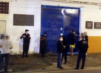 PMVR interdita bar por descumprir decreto de aglomeração