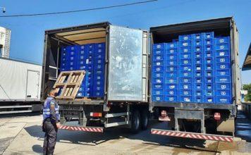 Barreira Fiscal apreende mais de 62,2 mil garrafas de cerveja na RJ-155