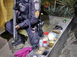 Suspeito preso acusado de fazer entrega de drogas em Três Rios