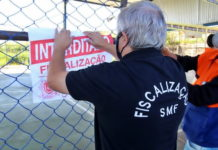 Denúncia leva a interdição de praça no Roma