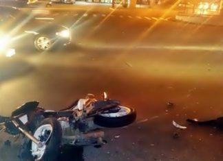 Motociclista morre num acidente em Volta Redonda