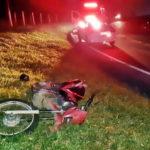 Motociclista fica ferido grave em acidente na Dutra, em Resende