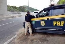 PRF registra vítima de atropelamento na Via Dutra, em Porto Real