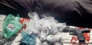 Suspeito preso com drogas e arma no Açude I