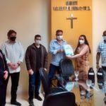 CMVR recebe projeto para crian;a e adolescente da prefeitura