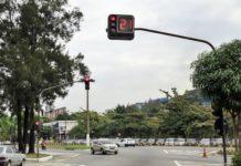Prefeitura faz manutenção em semáforos