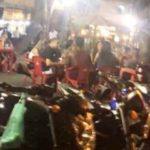 Praça é fechada pela prefeitura após noite de aglomeração