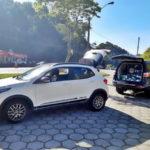 Trio que fugiu da polícia foi preso na Serra das Araras