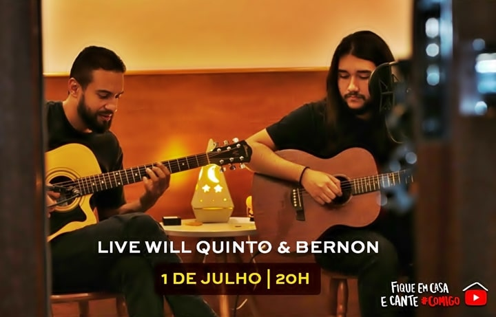Will apresenta live para o fãs no You Tube