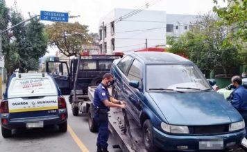 Carro furtado é recuperado pela Guarda Municipal de VR