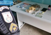 EXCLUSIVO: PM descobre ponto de venda de drogas em bicicletaria na Vila Rica