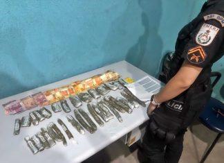 Droga encontrada após fuga de menor no Dom Bosco