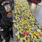 Droga apreendida em confronto com bandidos no Morro da Conquista