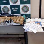 Operação prende suspeitos e drogas em Resende