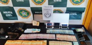 Operação da Polícia Civil prende nove pessoas em Barra Mansa