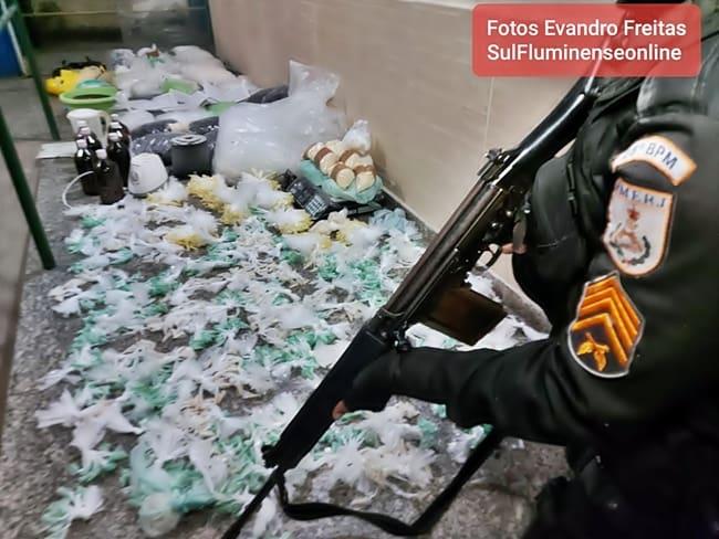 Refinaria de droga é descoberta em Volta Redonda