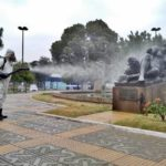 PMVR faz sanitização em 600 espaços de VR