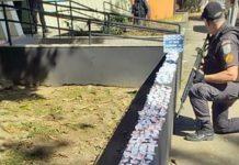 Jovem é preso com crack, maconha e cocaína em Resende