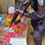 Cemitério da Maconha: PM desenterra mochila recheada da droga no Açude