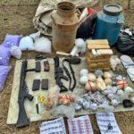 Operação apreende 30 kg de droga e dois fuzis, em Volta Redonda