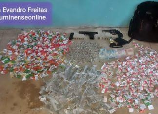 Confronto termina com grande quantidade de cocaína e maconha, em Volta Redonda
