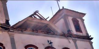 Homem morre ao cair de obra em igreja de Paty do Alferes