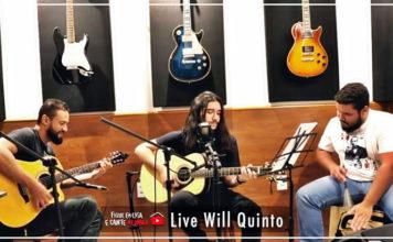 Will Quinto faz segunda live no You Tube com lançamento de música autoral