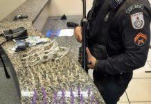 Menor, de 15 anos, é apreendido com droga em Barra Mansa