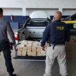 PRF e Polícia Civil apreendem mais de 110 quilos de pasta base de cocaína na Baixada