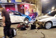 Motoboy morre num acidente com carro em Volta Redonda