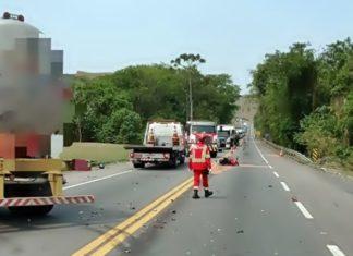 Motociclista morre em acidente na Lúcio Meira