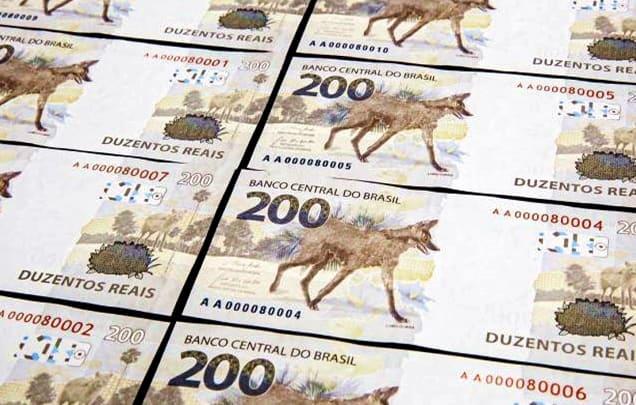 Nova nota de R$ 200 entra em circulação no Brasil