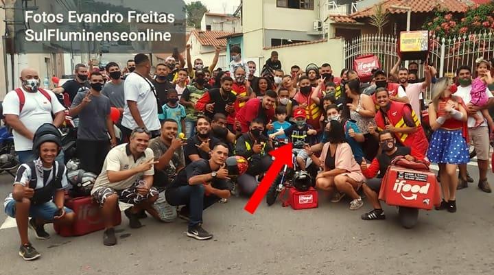 Mais de 7- motoboys foram apagar as velhinhas com Matheus
