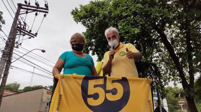 Baltazar faz carreata por ruas do Centro de VR