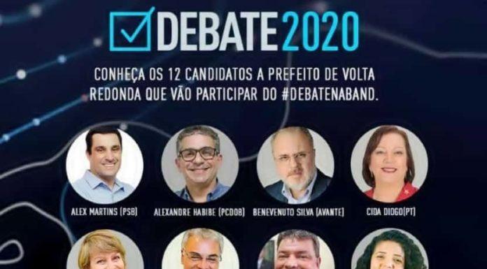 Band realiza primeiro debate de prefeito do Sul do Rio