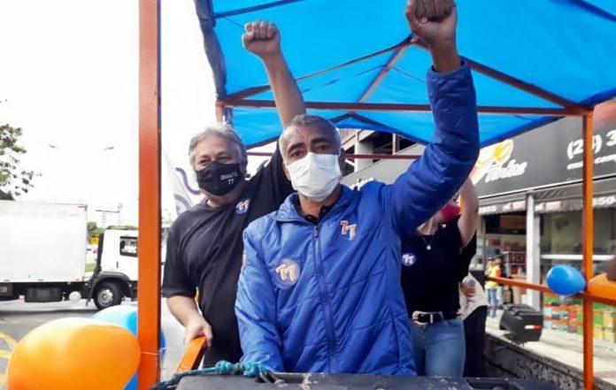 Granato recebe apoio do senador Romário para eleições em VR