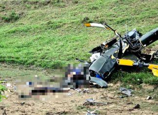 Identificado dois mortos na queda de aeronave em Rio Claro