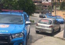 Bandidos entraram em confronto com a PM