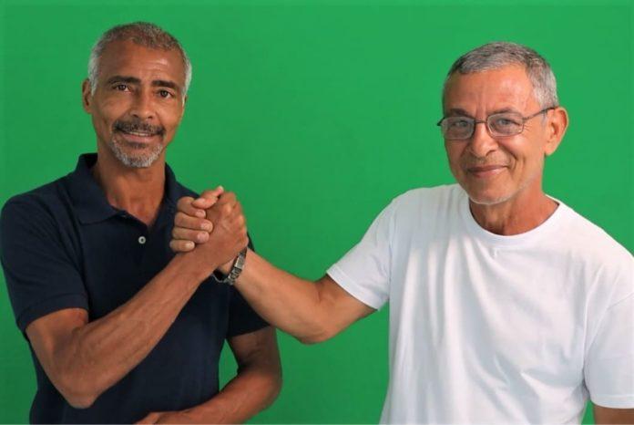 Romário fecha apoio em Pinheiral