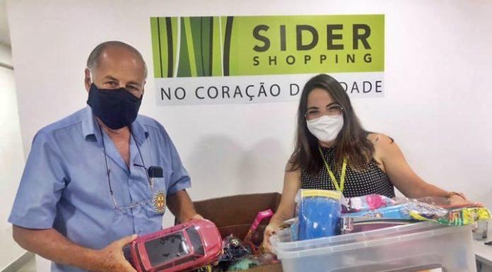 Sider doa brinquedos para entidade assistencial de VR