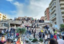 Terremoto atinge Turquia e Grécia